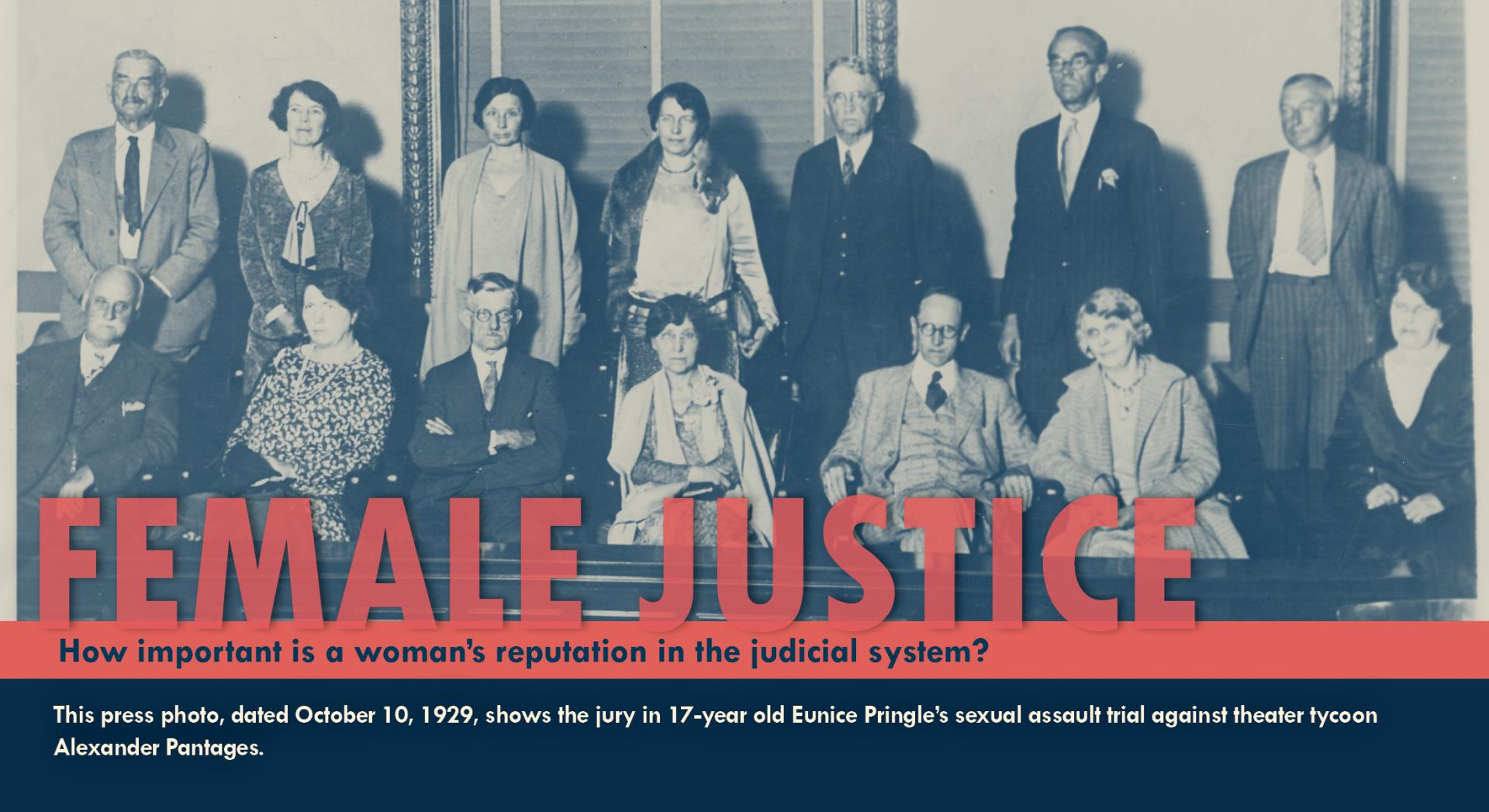 2019 Female Justice flyer