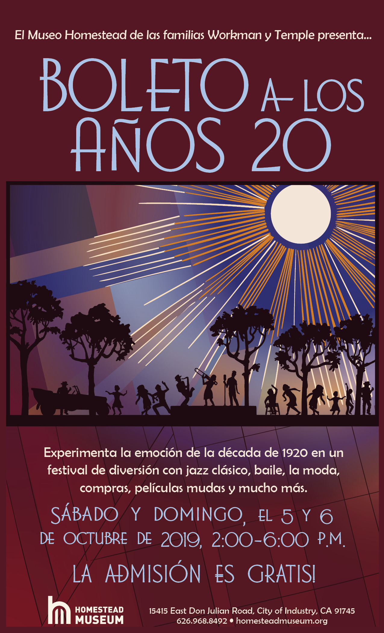 Ticket to the Twenties 2019 Spanish