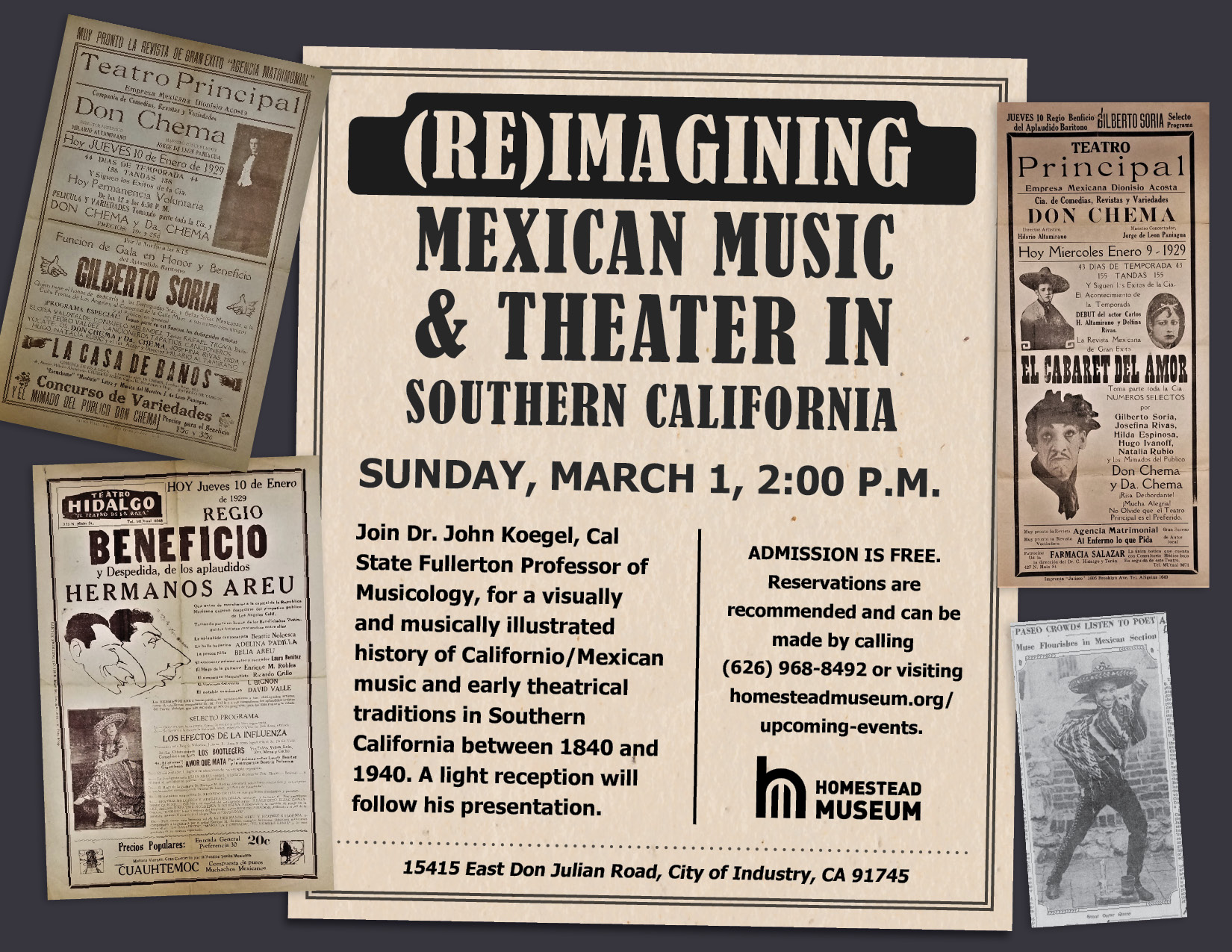 Mexican Theater in Southern California web