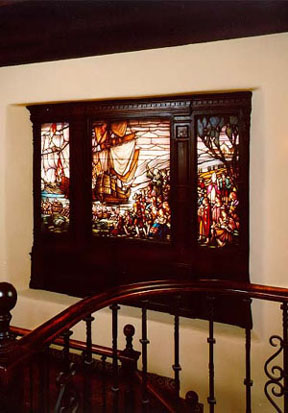 The Stained Glass Windows Found Throughout La Casa Nueva Demonstrate The  Variety Of Techniques Popular In The Early Twentieth Century.