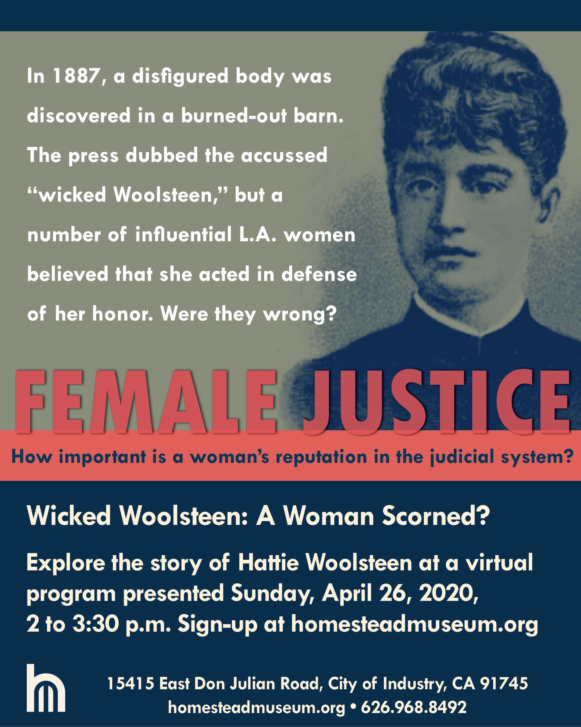 Female Justice 2020 Apri 26 Virtual